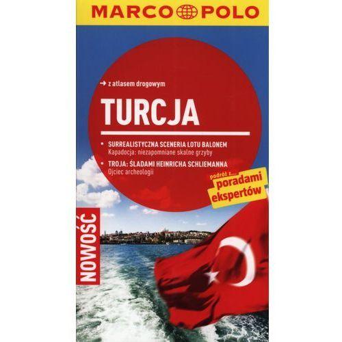Turcja. Przewodnik Marco Polo Z Atlasem Drogowym (opr. miękka)
