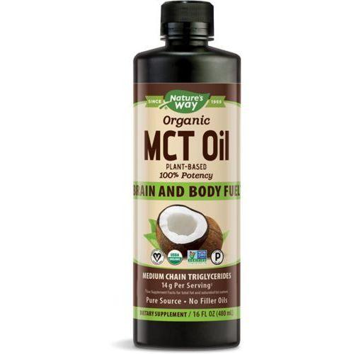 Nature's Way 100% Olej MCT z mleka kokosowego BIO - 480ml
