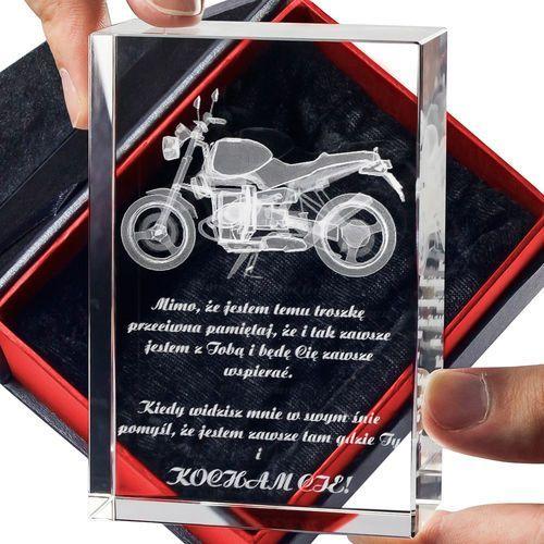 Motocykl 3D • personalizowana statuetka 3D średnia • GRAWER 3D