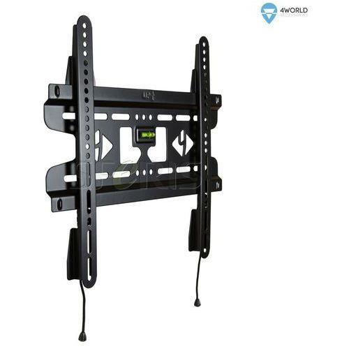 4World Uchwyt ścienny do LCD 25''- 42'' SLIM podwójne mocowanie max.45kg BLK - 07473-BLK, 1_205468