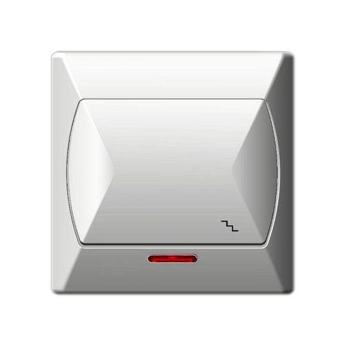 Ospel  akcent wyłącznik schodowy podświetlany (5907577410773)