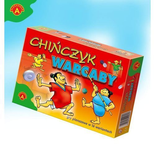 Alexander Alex gra planszowa. chińczyk, warcaby (5906018001112)