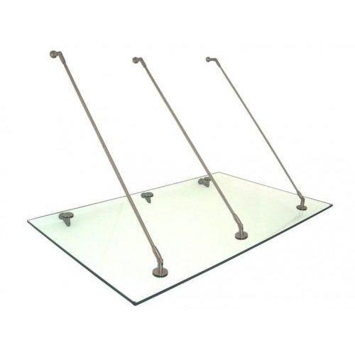 Metal-gum Daszek zadaszenie szklane drzwi 200 x 120