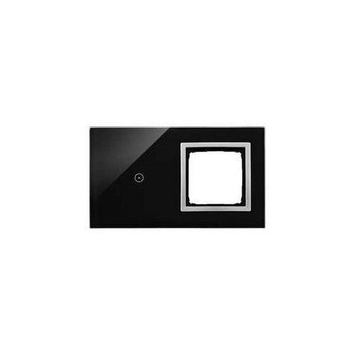 Panel dotykowy Simon 54 Touch DSTR210/74 2 moduły 1 pole dotykowe otwór na osprzęt Simon 54, księżycowa lawa