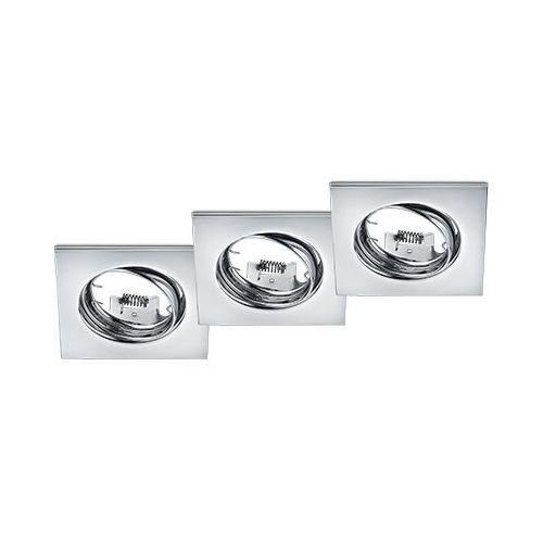 Trio Jura 650000306 oczko lampa wpuszczana downlight 3x15W GU10 chromowane
