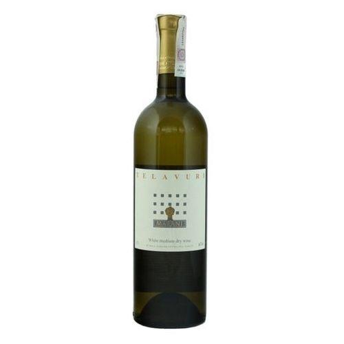 OKAZJA - 750ml telavuri wino gruzińskie białe półwytrawne od producenta Marani
