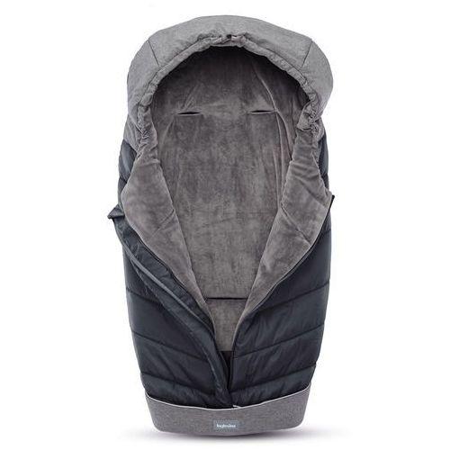 Inglesina śpiworek Newborn Winter Muff - Onyx Black (8029448072402)