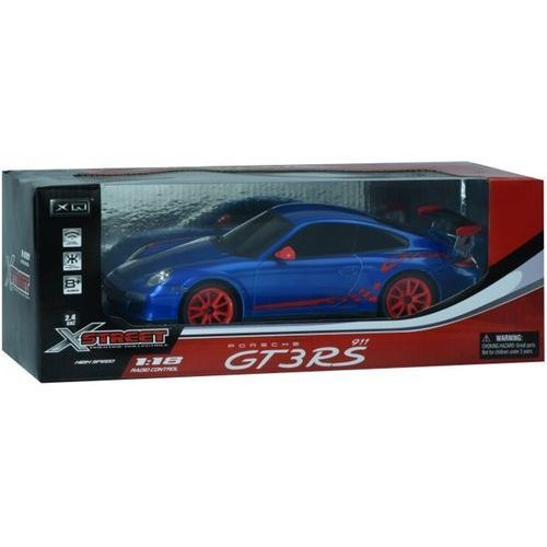 Samochód zdalnie sterowany LIBRA Porsche 911 GT3 skala 1:18 (niebieski)