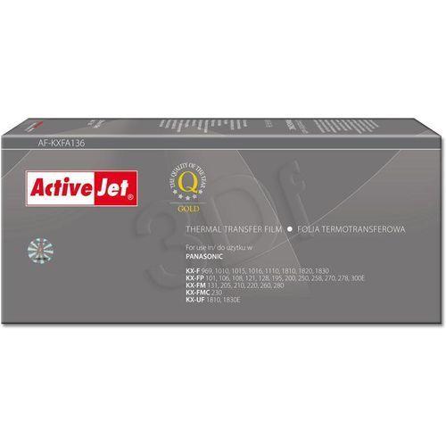 Folia AF-KXFA136 do faksu Panasonic (Zamiennik KX-FA136A) [2 rolki] (5904356285737)