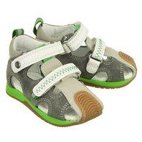 Bartek 81772 0be szaro-biały, sandały profilaktyczne dziecięce, rozmiary: 19-26 - szary