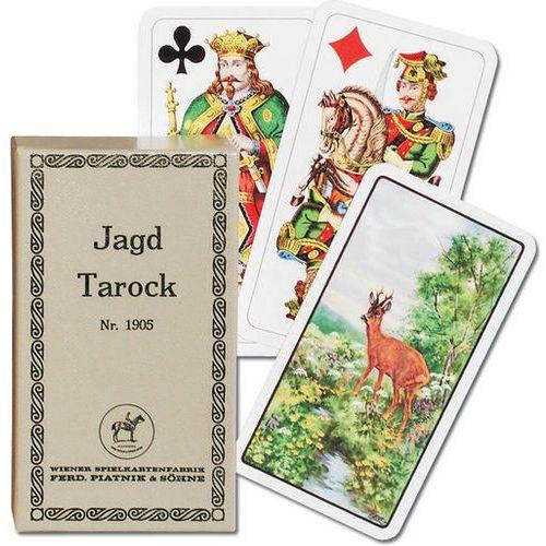 Karty do gry Piatnik 1 talia Jagd Tarock