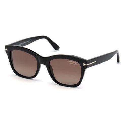 Tom ford Okulary słoneczne ft0614 polarized 01h