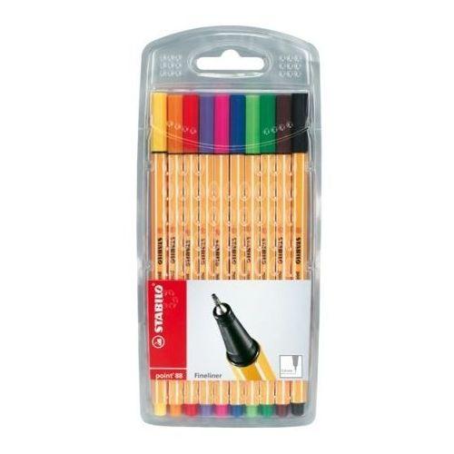 Cienkopis Stabilo point 88, komplet 10 kolorów - Rabaty - Porady - Hurt - Negocjacja cen - Autoryzowana dystrybucja - Szybka dostawa