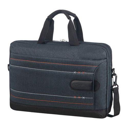 "sonicsurfer lifestyle teczka / torba na laptopa 15,6"" / na tablet 10,1"" / granatowa - jeans marki American tourister"