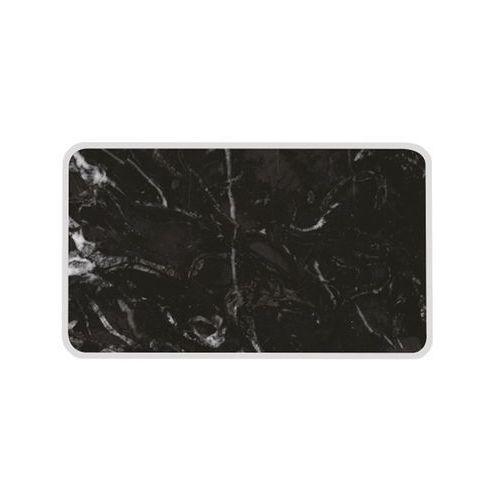 Zak! designs - osmos talerz do serwowania czarny marmur s