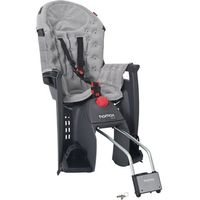 fotelik rowerowy siesta premium grey/light grey marki Hamax