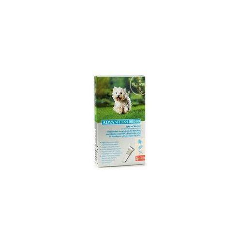 Advantix Spot-On dla psa 4-10kg - roztwór przeciwko pchłom i kleszczom - 4 pipety w opakowaniu (5909997024066)