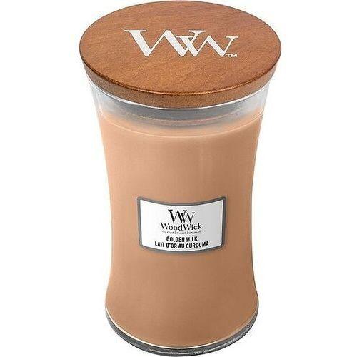 Świeca core woodwick golden milk duża