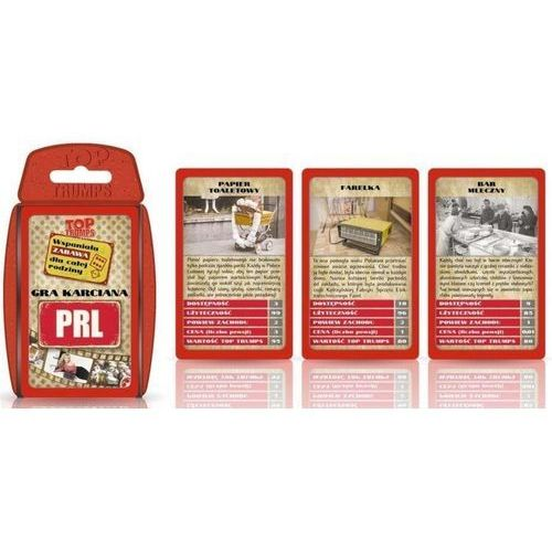 Winning moves Gra - top trumps prl retro (5036905027656)