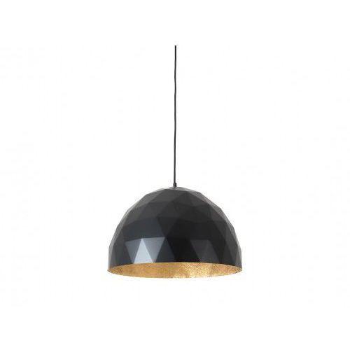 Customform Lampa wisząca leonard l - złoto-czarny