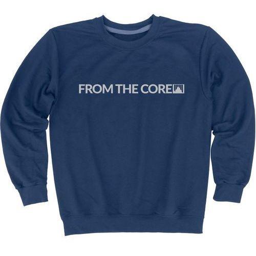 Nowa bluza crew sweatshirt gaper heather blue rozmiar m marki Shred