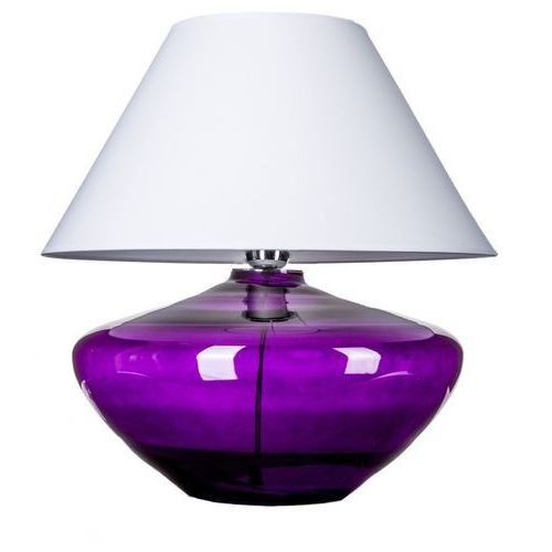 4 concepts Lampa stołowa madrid violet z białym kloszem, l008711215