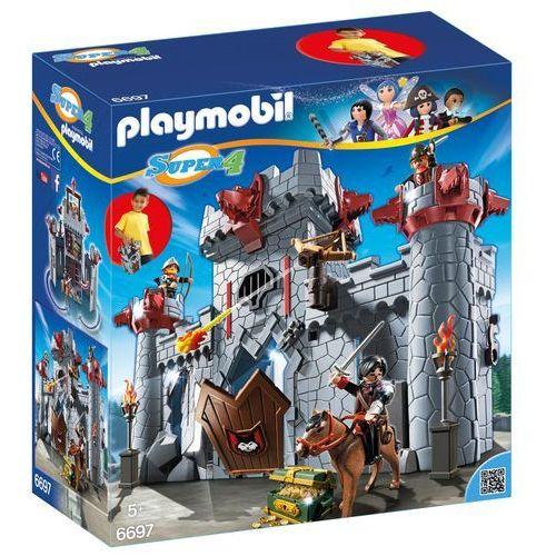 Playmobil SUPER 4 Przenośny zamek czarnego barona 6697