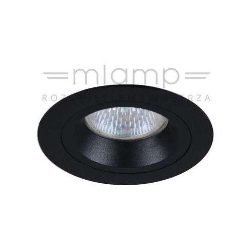 Oczko LAMPA sufitowa FORO nero Orlicki Design metalowa OPRAWA okrągły wpust do zabudowy czarny (1000000281705)