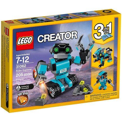 LEGO Creator, Robot-odkrywca, 31062 wyprzedaż
