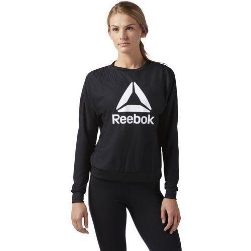 Bluza Reebok Workout Read CD5957, kolor czarny