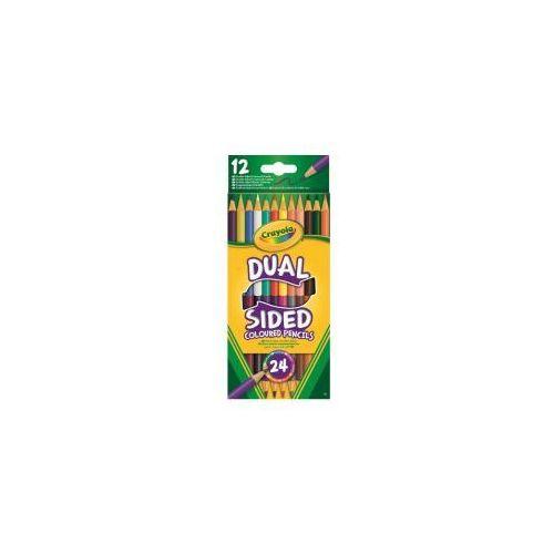 Crayola Dwustronne kredki ołówkowe 12szt