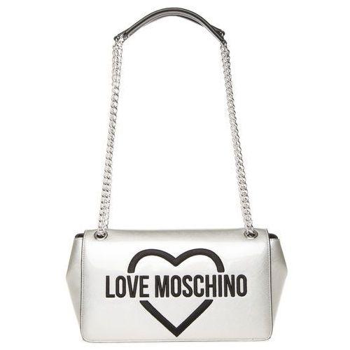 Love Moschino Torebka Srebrny UNI, kolor szary
