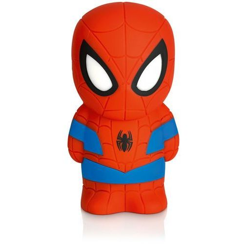 DISNEY - Lampka nocna na baterie Softpal LED Spiderman 12,5cm