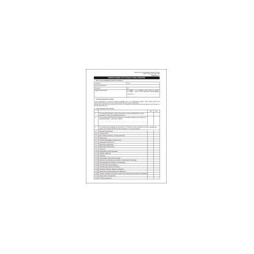 Oświadczenie o stanie zdrowia [Mz/L-2] (5907510476309)