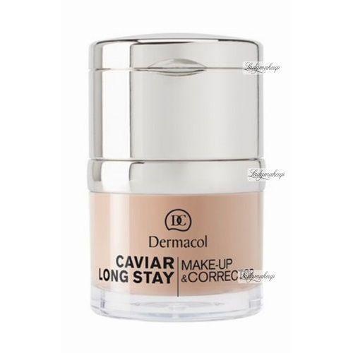 Dermacol Caviar Long Stay Make-Up & Corrector podkład 30 ml dla kobiet 2 Fair (85950863). Najniższe ceny, najlepsze promocje w sklepach, opinie.