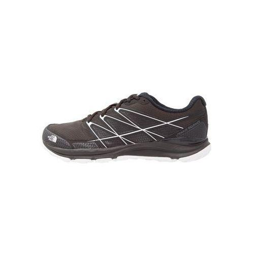 The North Face LITEWAVE ENDURANCE Obuwie do biegania Szlak black/white, kolor czarny