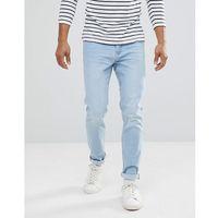 man slim jean in light wash - blue marki Mango