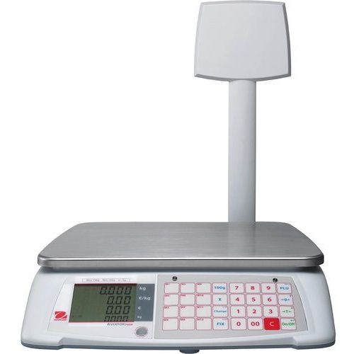 Ohaus Waga kalkulacyjna do 15 kg, z wyświetlaczem od strony klienta | , 731153