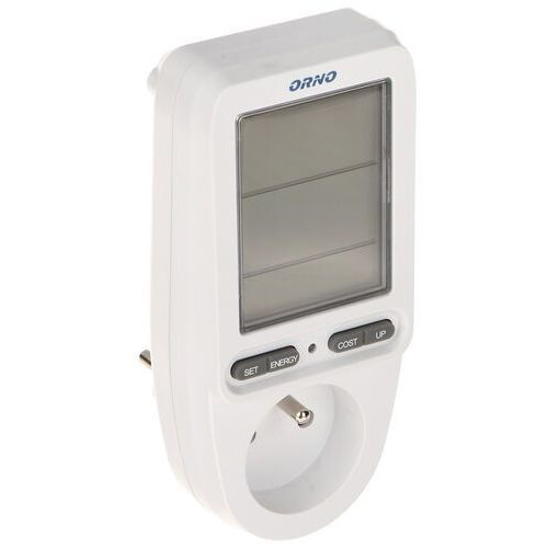WATOMIERZ, KALKULATOR ENERGII Z WYŚWIETLACZEM LCD OR-WAT-435 ORNO, OR-WAT-435