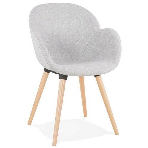 Kokoon design - krzesło sagu, szare