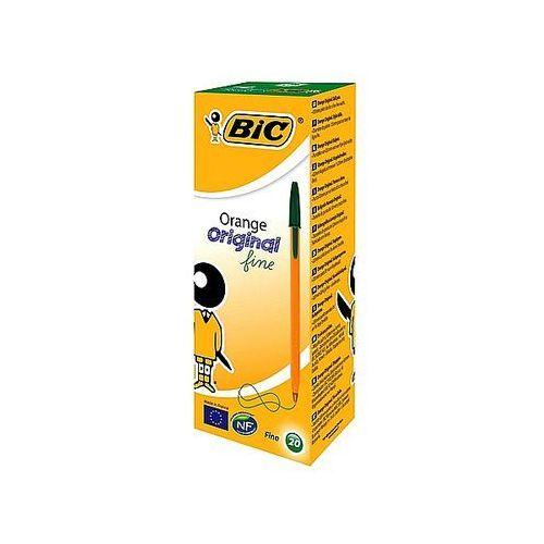 Długopis orange zielony 0,7mm marki Bic