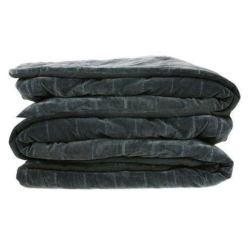 Hk living miękka bawełniana narzuta na łóżko w kolorze zielono-niebieskim(230x250) tts1016 (8718921023931)