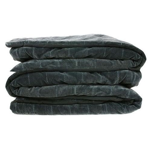 Hk living miękka bawełniana narzuta na łóżko w kolorze zielono-niebieskim(230x250) tts1016 (8718921023948)