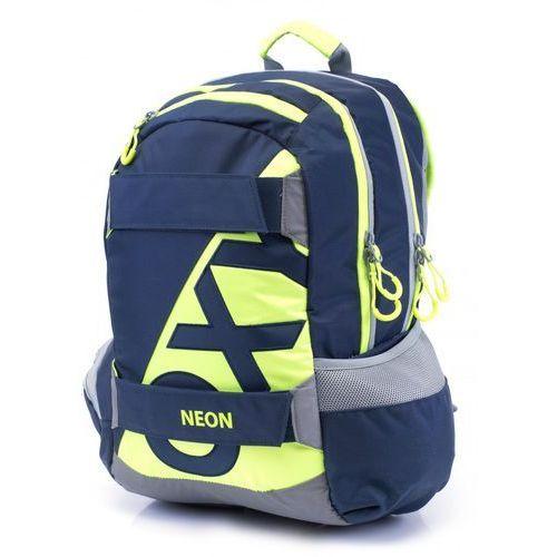 Karton p+p anatomiczny plecak oxy sport neon dark blue (8595096777155)