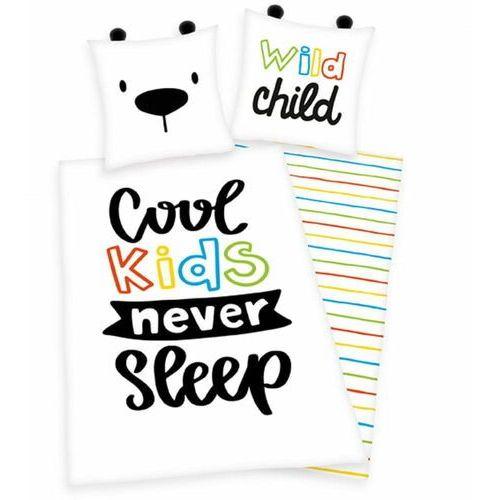 "pościel ""cool kids never sleep"" marki Herding"