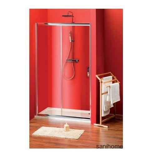 Gelco Sigma drzwi prysznicowe do wnęki 110cm szkło matowe brick sg3261
