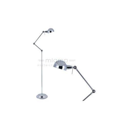 Spotlight Industrialna lampa podłogowa kadina 8471128 stojąca oprawa regulowana chrom