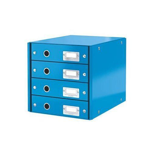 Kontener szufladowy wow a4 6049-36 niebieski marki Leitz