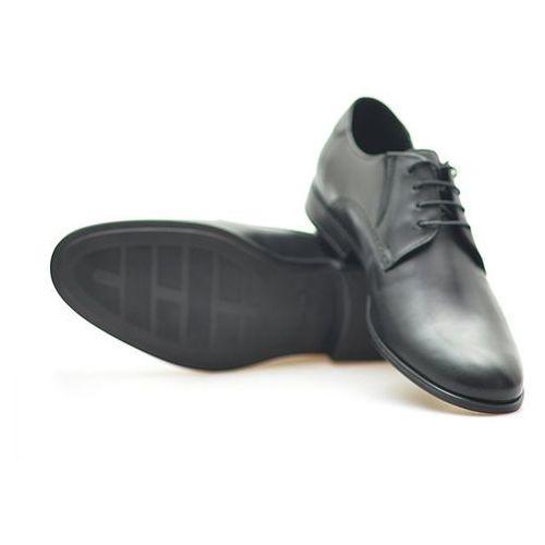 Pantofle Conhpol C00C-5155-0228-00S01 Czarne lico