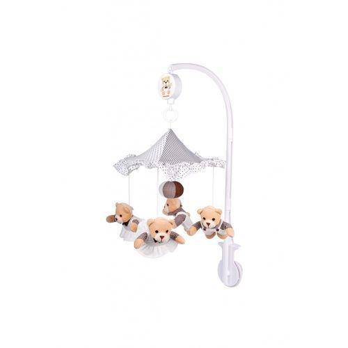 , karuzela pluszowa misie pod parasolem marki Canpol babies